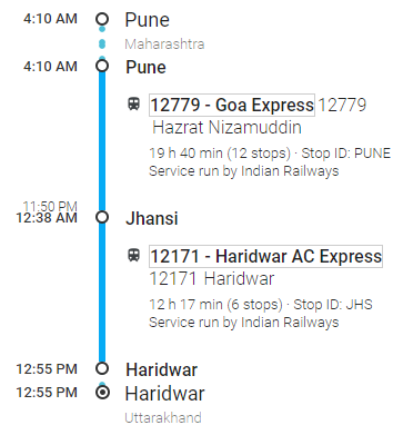 pune-to-haridwar-by-train